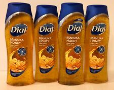 4 - Dial Manuka Honey Enriching Body Wash, 16 oz each