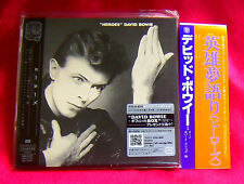 David Bowie Heroes MINI LP CD JAPAN + PROMO OBI TOCP-70151