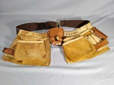 Bolen Leather Products Construction Tool Work Apron Pouch Belt Riveted No. B427.