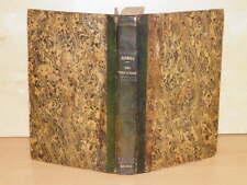 DANDOLO Art élever des Vers à SOIE 2 TABLEAUX 2 PLANCHES Reliure MAROQUIN 1845