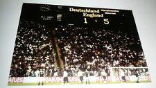 ENGLAND 5 VS 1 GERMANY POSTCARD