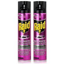 2x Raid Multi Insekten-Spray Frischer Duft 400 ml - Wirkt sicher und schnell