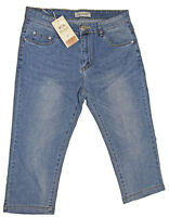 Pantacourt Femme Jeans 5 Poches Taille Normale