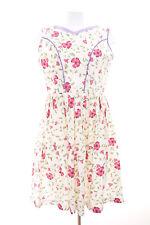 Edelnice Dirndl Gr. DE 40 Damen Trachten Kleid Dress Robe Mehrfarbig Baumwolle