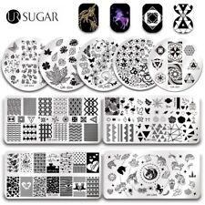 Azúcar Ur Para Uñas Stamping Placas sello Plantillas Diseño De Corazón Día de San Valentín