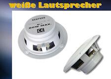 * weiße Lautsprecher 13cm Paarpreis Marine Serie = wasserabweisend