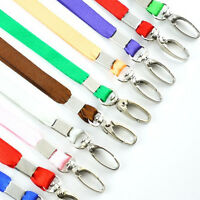 1X Neck Strap Lanyard Safety ID Badge Holder Metal Available Breakaway Phone FT