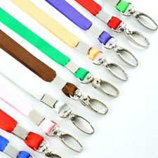 3pcs Neck Straps Lanyard Safety ID Badge Holders Metal Available Breakaway Phone