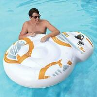 SwimWays Star Wars BB-8 Oversized Inflatable Pool Float, Multicolor