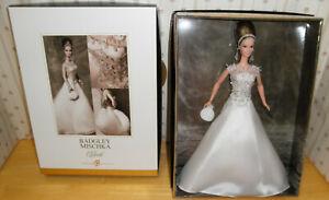 Bagdley Mischka Bride Gold Label Barbie Doll B8946 NRFB 2004
