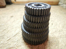 Vintage Craftsman Double A Metal Lathe 109 Change Gears 36 40 44 46 52 54 56