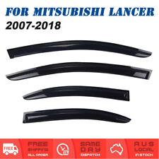 For Mitsubishi Lancer 2007 to 2018 Weather shields Window Visors Weathershields