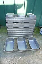 More details for 1x fbs 0806 triple 3 strap baking loaf bread tin strapped bakery catering bakers