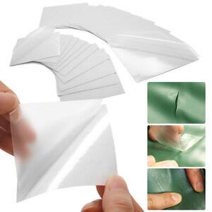 20pcs Clean Flex Patches Raincoat Vinyl Fabric Repair TPU Tent Tape Outdoor Gear