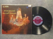 33 RPM LP Record Roger Williams Plays Beautiful Waltzes Kapp Records KL-1062