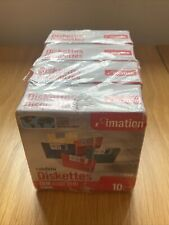 More details for imation diskettes floppy disks - 40x 1.44mb rainbow coloured disks *new*