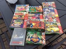 Vintage Nintendo Game Box Lot