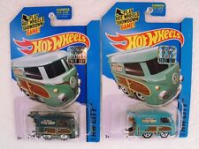 2015 HOT WHEELS SUPER AND REGULAR TREASURE HUNT KOOL KOMBI FACTORY SET