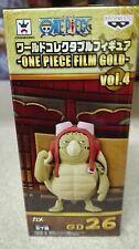 ONE PIECE WCF FILM GOLD Vol. 4 KAME FIGURA FIGURE 26 NEW NUEVA