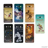 Disney Quote Case/Cover for Samsung Galaxy J7 2016 (J710) / Soft Silicone TPU