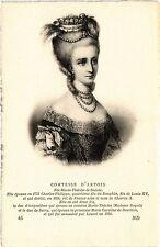 CPA Comtesse d'Artois Royalty Nobelty (315103)