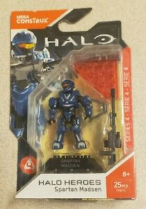 MEGA Bloks / Construx Halo Heroes Spartan Madsen New