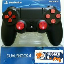 SONY PS4 MODDED RAPID FIRE CONTROLLER, RED CHROME, BULLETS  WW2 ,BF1, BO3,+