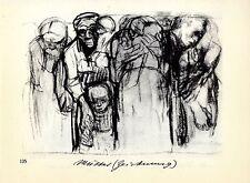 Käthe Kollwitz Die Werke: Mütter/ Die Eltern, Zeichnungen Historische Grafik1930