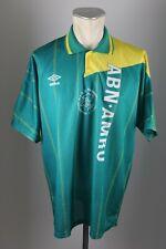 Ajax Amsterdam Trikot Gr. XL 1991-1993 Jersey Umbro Away Shirt 90s vintage grün
