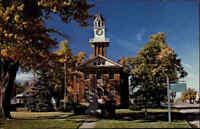 Postcard KANADA Canada ~1970/80 Thamesville Ontario Town Hall Rathaus ungelaufen