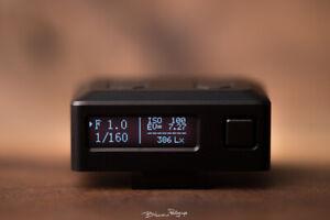 Mini EM-01 Photography Luminometer Photometer Set-top Light Meter Hot Cold Shoe