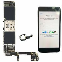 Main Motherboard Logic Board Touch ID Parts for Apple iPhone 6S 16/64GB Unlocked