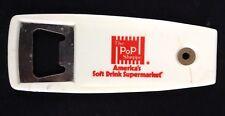 Vintage The Pop Shoppe bottle opener Americas soft drink supermarket collectible