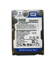 "Western Digital Scorpio Blue WDC WD6400BPVT-80HXZT3 Hard Disk 640Gb 2,5"""