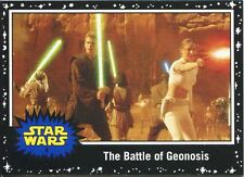 Star Wars JTTFA Black Parallel Base Card #9 The Battle of Geonosis