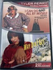 I CAN DO BAD ALL BY MYSELF & WHY DID I GET MARRIED (DVD, 2 DISC) TYLER PERRY NEW
