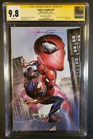 Spider-Geddon #0 CGG SS 9.8 Signed by Clayton Crain NYCC Comic-Con exclusive