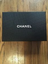 Chanel Black Empty Shoe Storage Box (12x8x4) 100% Authentic