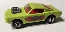 Phantom Matchbox Lesney #23 Ford Mustang  Ratrod In Lime Green.