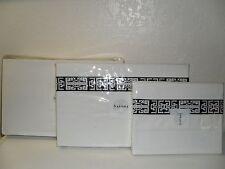 NATORI INDOCHINE BLACK WHITE JACQUARD KING SHEET SET MSRP $515