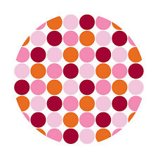 Wall Pops Lots of Dots Pink Circles Stickers Decals WPD90236