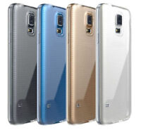 Clear Crystal Soft TPU Silicone Case Cover Skin for Samsung Galaxy S5 I9600