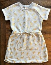 Gymboree Size 4 5 6 7 10 Unicorn Dress Gray Gold French Terry Horses Girls New