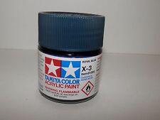 Tamiya Color Acrylic Paint Royal Blue #X-3 (23 ml) NEW