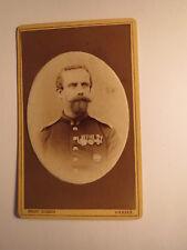 Viersen - von Cederstolpe ? als Soldat in Uniform mit Orden / CDV