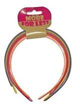 Accessoires de coiffure bandeaux jaunes pour fille de 2 à 16 ans