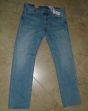 New w Tag Levi's 501 2 way Stretch Button Fly Straight Leg Denim Jeans 36 x 34