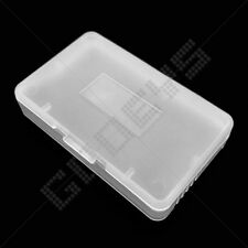 2x Clear Nintendo Game Boy Advance GBA Game Cartridge Protectors/Holders/Cases