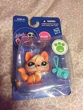 Littlest Pet Shop Lps Orange White Fox #1812 Brand New In Packaging