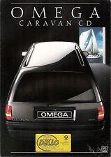 Prospetto/brochure OPEL Omega Caravan CD 09/1987